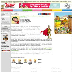 Astérix de A à Z - Les personnages - Jules César