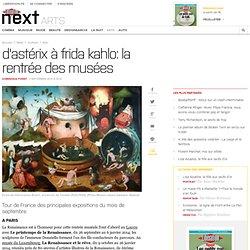 D'Astérix à Frida Kahlo: la rentrée des musées