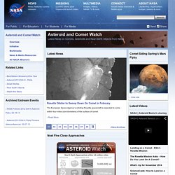 Asteroid and Comet Watch