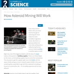 How Asteroid Mining Will Work - HowStuffWorks