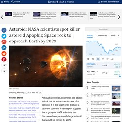 Asteroid: NASA scientists spot killer asteroid Apophis; Space rock to approac...