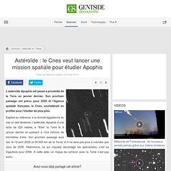Astéroïde : le Cnes veut lancer une mission spatiale pour étudier Apophis