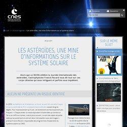 Les astéroïdes, une mine d'informations sur le Système solaire