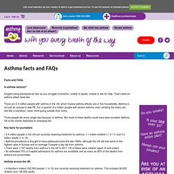 Asthma facts and FAQs