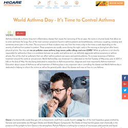 World Asthma Day: Symptoms, Causes & Prevention of Asthma - Hicare