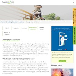 Asthma: Ways To Manage And Control