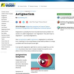 3 Astigmatism Types and How to Correct Them