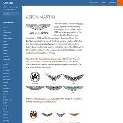Aston Martin car logo