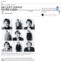The Astonishing Rise of Angela Merkel
