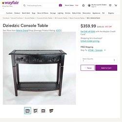 Astoria Grand Dziedzic Console Table