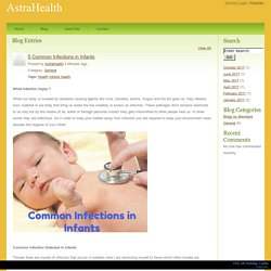 AstraHealth - 5 Common Infections in Infants