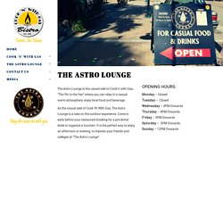 The Astro Lounge › Cook 'N' With Gas ‹ Cook 'n' with Gas and The Astro Lounge Restaurant and Bar