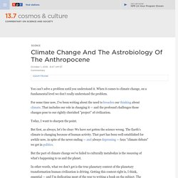 Climate Change And The Astrobiology Of The Anthropocene : 13.7: Cosmos And Culture