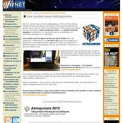 Astrojuniors - Association Francaise d'Astronomie (AFA)