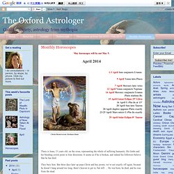 The Oxford Astrologer: Monthly Horoscopes