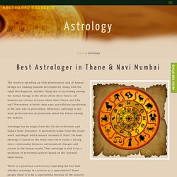 Best Astrology Services in Thane - Dr. S. Hazra