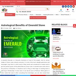 Astrological Benefits of Emerald Stone – Gem Mines