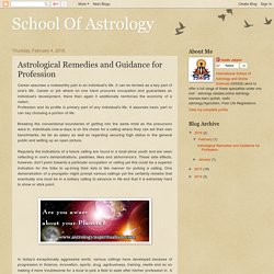 Astrological Guidance for Profession by Astrologer in Jaipur