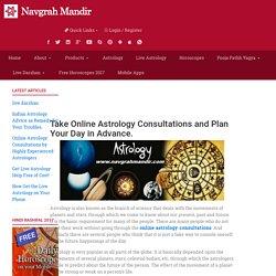 Online Astrology Consultations at Navgrah Mandir
