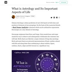 What is Astrology and Its Important Aspects of Life