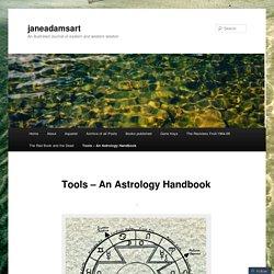 Tools – An Astrology Handbook