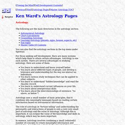 Astrology Main Page