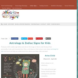 Astrology & Zodiac Signs for Kids