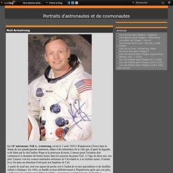 Neil Armstrong - Portraits d'astronautes et de cosmonautes