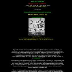 Dropas Crash 10,000 BC, Aliens, Alien Crash, Dropas, Ancient Astronauts, Alien Disc, Burlington UFO and Paranormal Center , Burlington Wisconsin, Wisconsin authors, Mary sutherland author of Living in the Light, UFO, Alien, extraterrestrials, Ancient Race