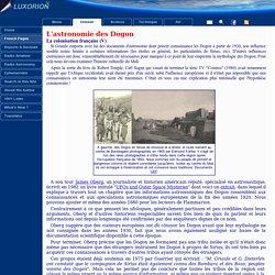 L'astronomie des Dogons - Pseudo-science et contamination culturelle