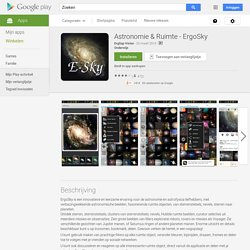 Astronomie & Ruimte - ErgoSky - Android-apps op Google Play