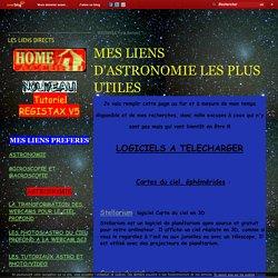 MES LIENS D'ASTRONOMIE LES PLUS UTILES - Micromegas, le blog d'Yvaton