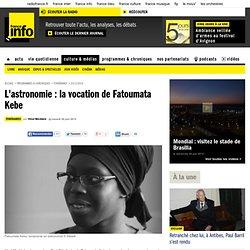 L'astronomie : la vocation de Fatoumata Kebe