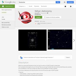 Astronomy – Applications Android sur Google Play