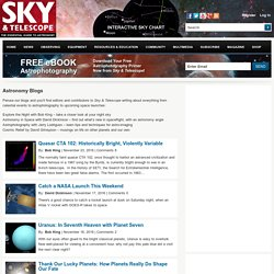 Astronomy Blogs