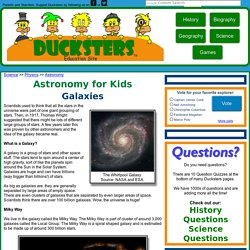 Astronomy for Kids: Galaxies