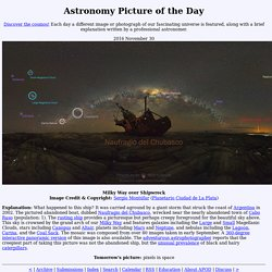 Astronomy Pıcture of the Day