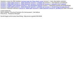 astronomy.swin.edu.au/~cblake/stats.html