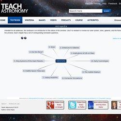Astropedia Wikimap - Teach Astronomy