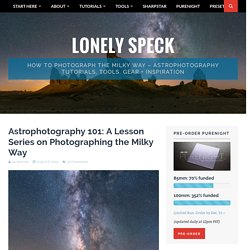 Astrophotography 101: A Lesson Series on Photographing the Milky Way