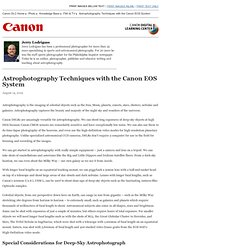 Astrophotography with Canon EOS