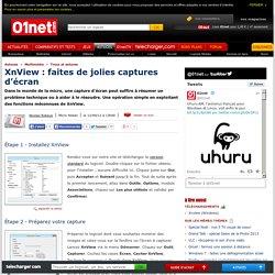 Astuce XnView : faites de jolies captures d'écran