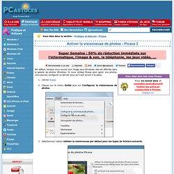 Activer la visionneuse de photos - Picasa 3