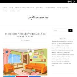 15 Astuces Pour Aménager Les Petits Salons de Moins de 20 m²