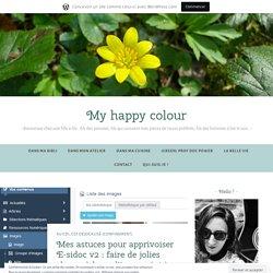 Apprivoiser E-sidoc v2 : faire de jolies choses à base d'images (3/3) – Green is my happy colour