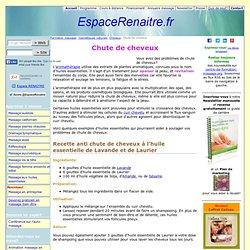 Chute de cheveux - 5 astuces d'aromatherapie