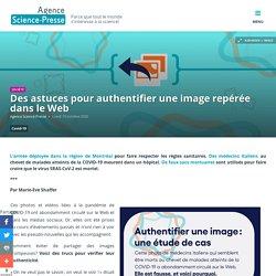 Des astuces pour authentifier une image repérée dans le Web