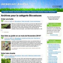 Bio-Astuces « Categories