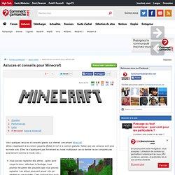 Astuces et conseils pour Minecraft