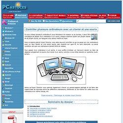 Contrôler plusieurs ordinateurs avec un clavier et une souris